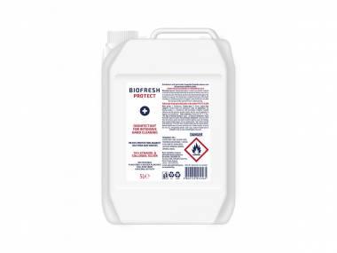 Čistící Dezinfekční Antibakteriální gel na ruce 74% etanol Biofresh 5 l