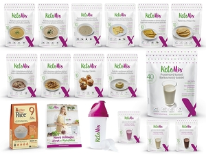 Ketonová dieta na 4 týdny (140 porcí)